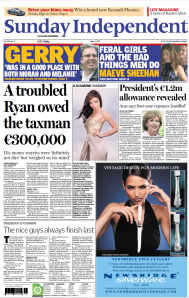 'A troubled Ryan owed the taxman €300,000' - report