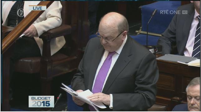 Budżet Irlandii na rok 2015