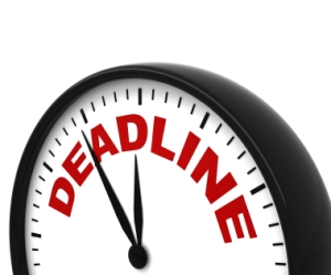 CRO Filing Deadline